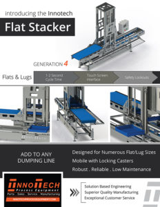 Flat Stacker Line Card