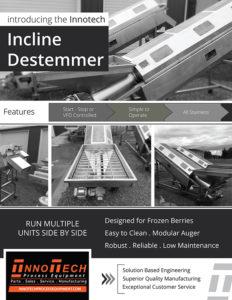 Incline Destemmer Line Card