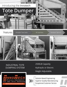 Tote Dumper Line Card