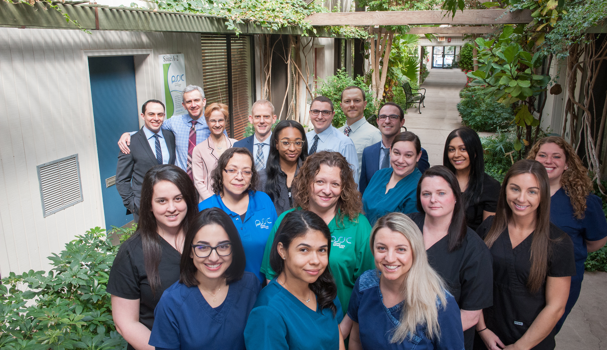 The Princeton Spine and Joint Center Staff and Doctors
