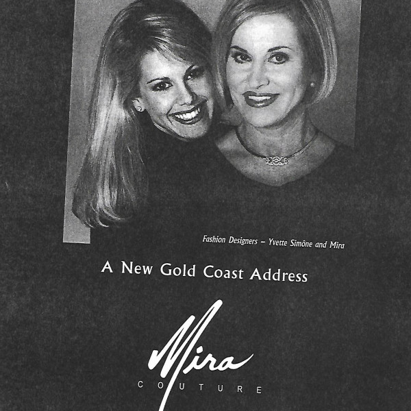Gold Coast Store opens 1996 - Mira Couture