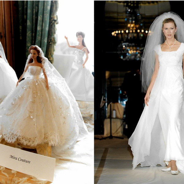 Mira-cles Bridal Doll collection launched
