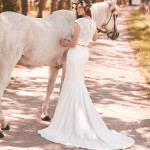 2053 Mikaella Wedding Bridal Gown Chicago Back