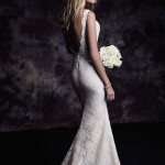 4601 Paloma Blanca Wedding Bridal Gown Chicago Back