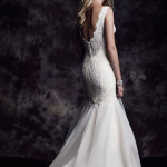 4615 Paloma Blanca Wedding Bridal Gown Chicago Back