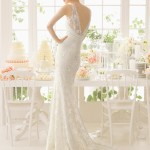 Adaggio Aire Barcelona Wedding Bridal Gown Chicago Back