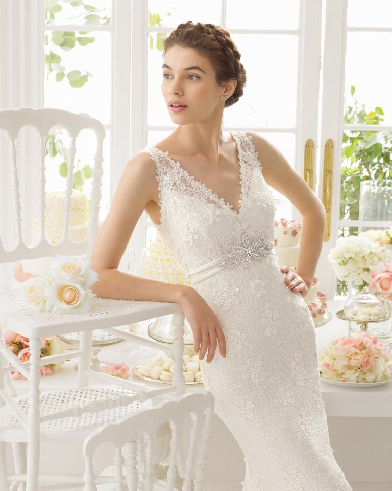 Adaggio Aire Barcelona Wedding Bridal Gown Chicago Detail
