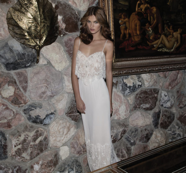 Aline Flora Wedding Bridal Gown Chicago
