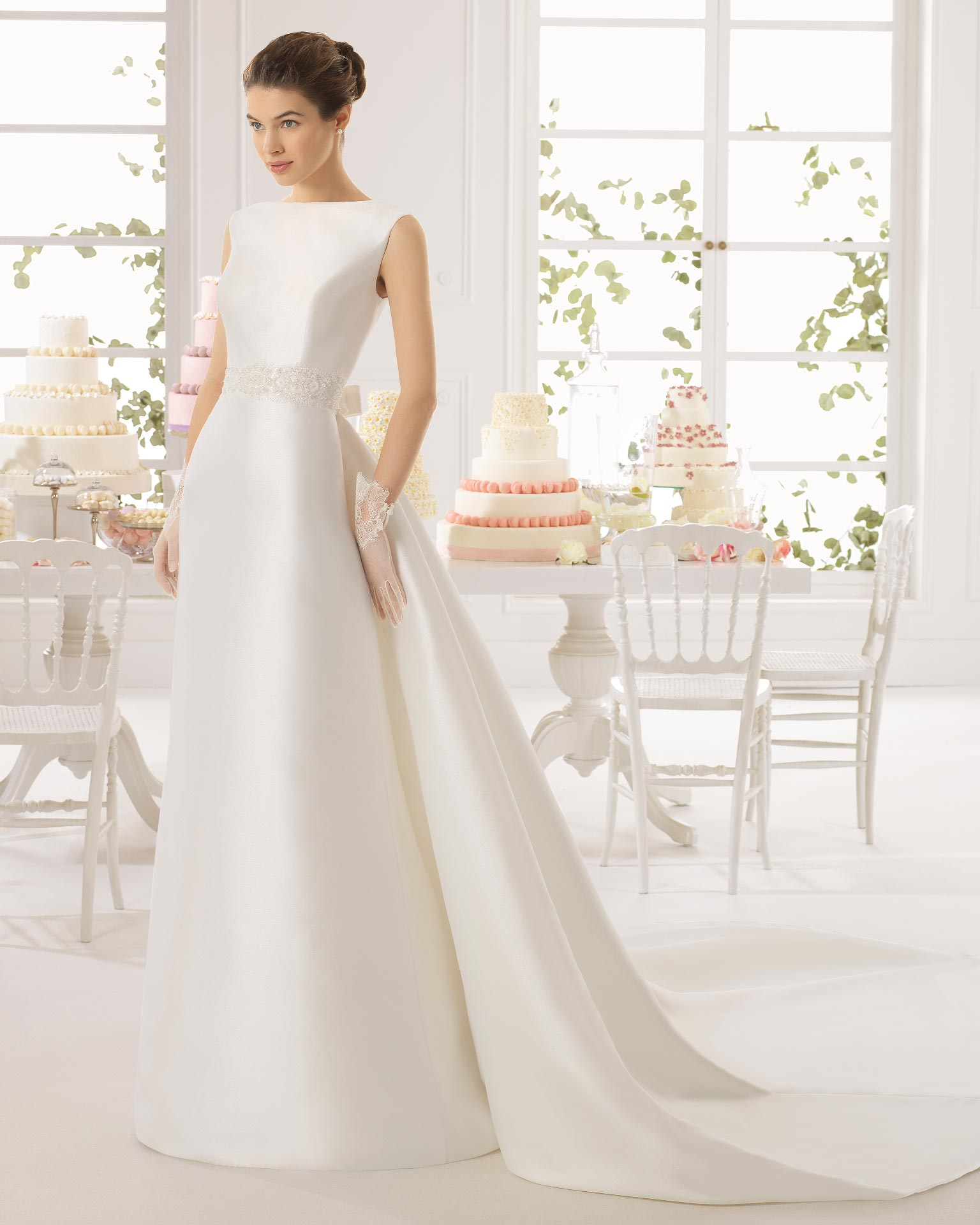 Ariel Aire Barcelona Wedding Bridal Gown Chicago