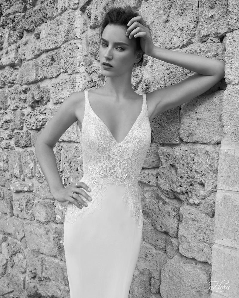 Bella Flora Wedding Gown Chicago Detail
