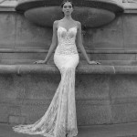 E1611 Ester Wedding Bridal Gown Chicago Front