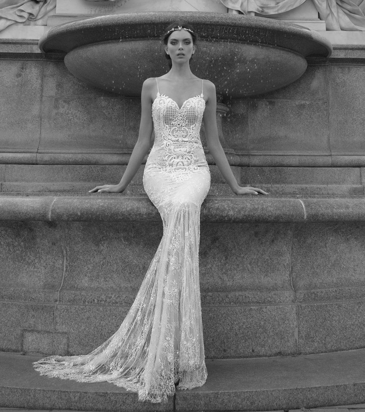 E1611 Ester Wedding Bridal Gown Chicago Front