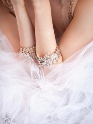 Justine M Couture Rose Petal Tea Bracelet Accessories Chicago