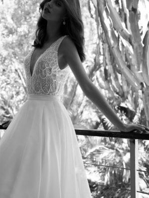 Martha Flora Wedding Bridal Gown Chicago