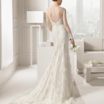 SantaFe Rosa Clara Wedding Bridal Gown Chicago Back