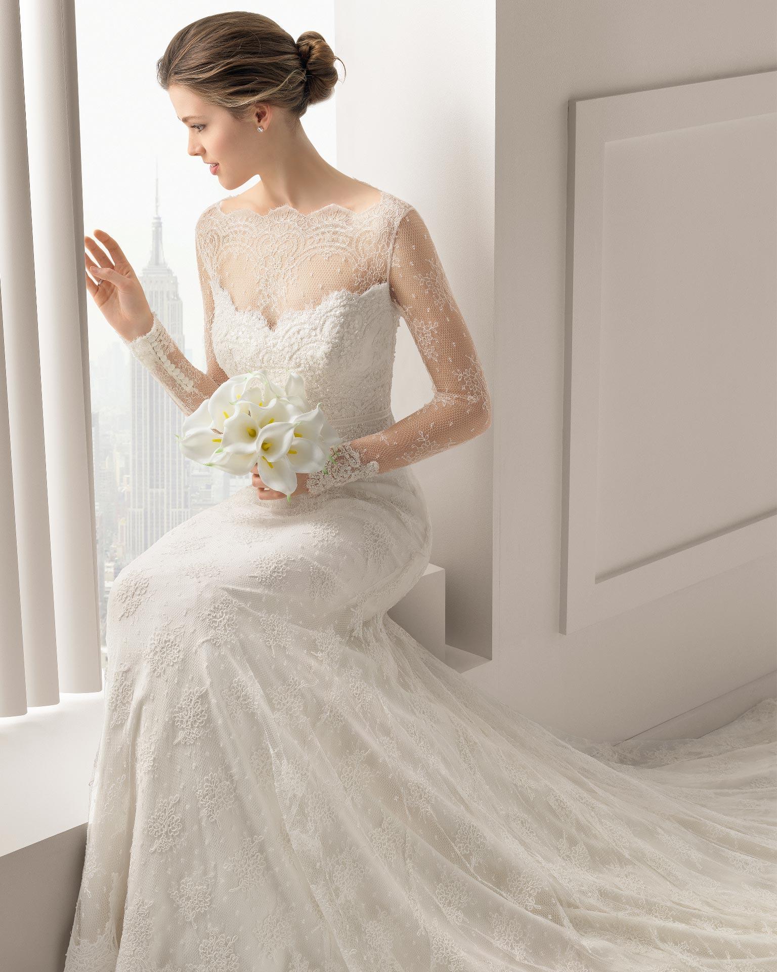 SantaFe Rosa Clara Wedding Bridal Gown Chicago Detail