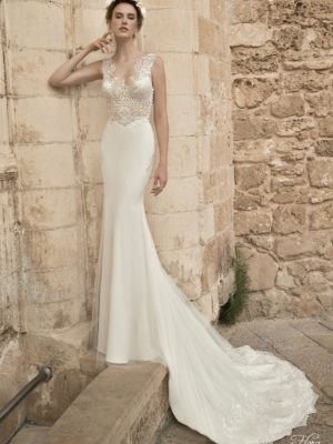 Vik Flora Wedding Bridal Gown Chicago