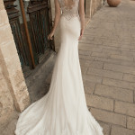 Vik Flora Wedding Bridal Gown Chicago Back