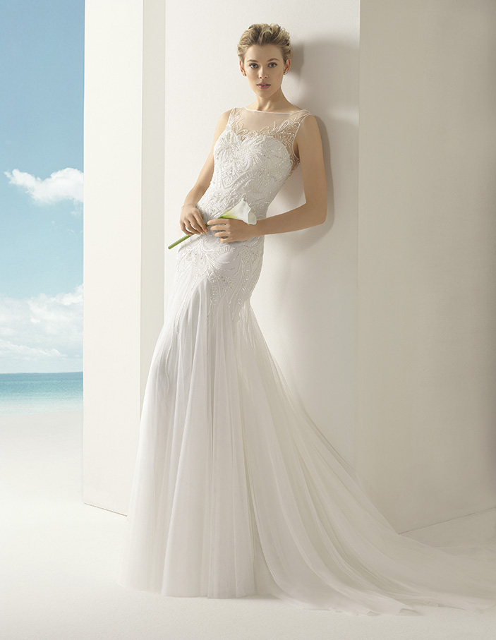 Volga Rosa Clara Soft Wedding Bridal Gown Chicago