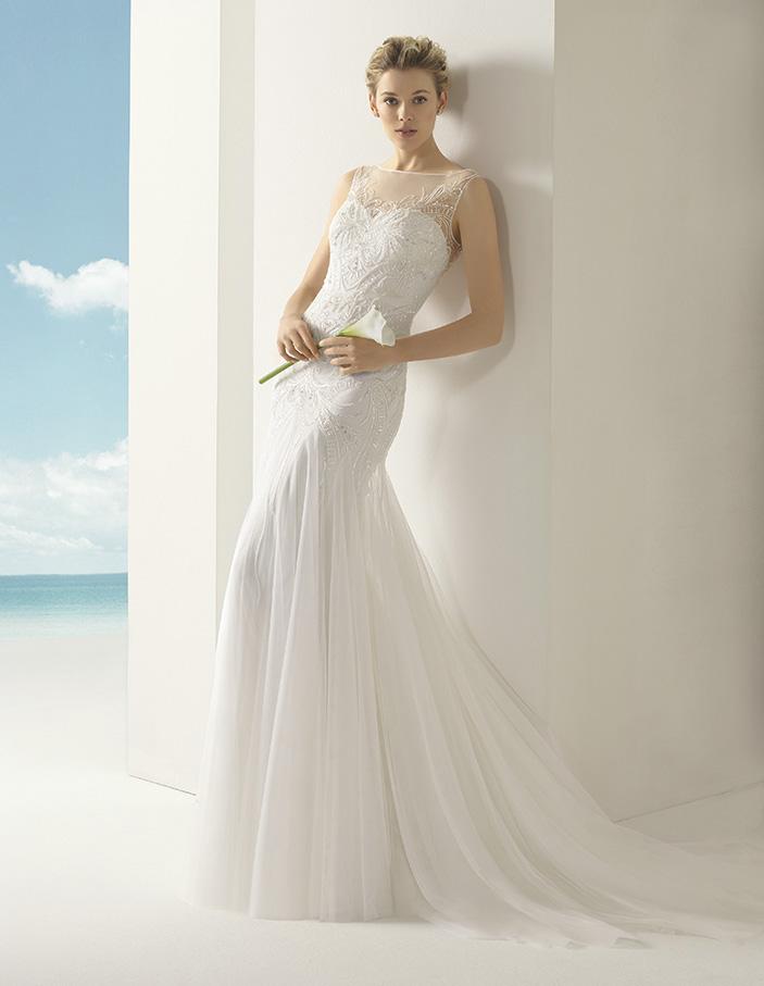 Volga Rosa Clara Soft Wedding Bridal Gown Chicago