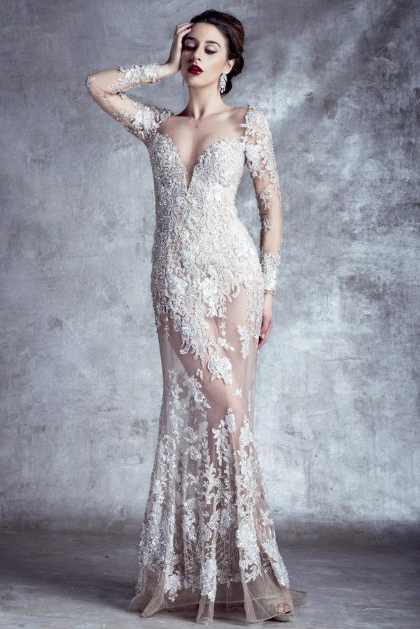 14128 Stephen Yearick Wedding Bridal Gown Chicago