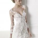 Capricornio Atelier Pronovias Wedding Bridal Gown Chicago Short