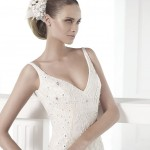 Claudiane Atelier Pronovias Wedding Bridal Gown Chicago Detail