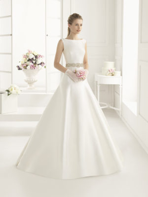 Entenza Rosa Clara Two Mira Couture Wedding Bridal Gown Chicago