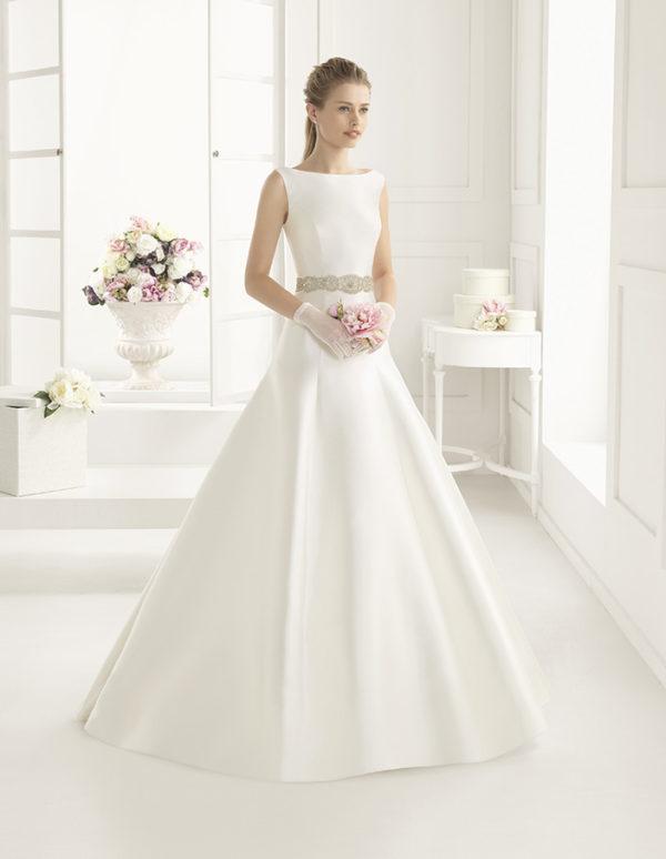 Entenza Rosa Clara Two Mira Couture Wedding Bridal Gown Chicago