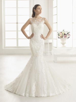 Estrada Rosa Clara Mira Couture Wedding Bridal Gown Chicago