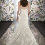 Martina Liana 500 Mira Couture Wedding Bridal Gown Chicago Back