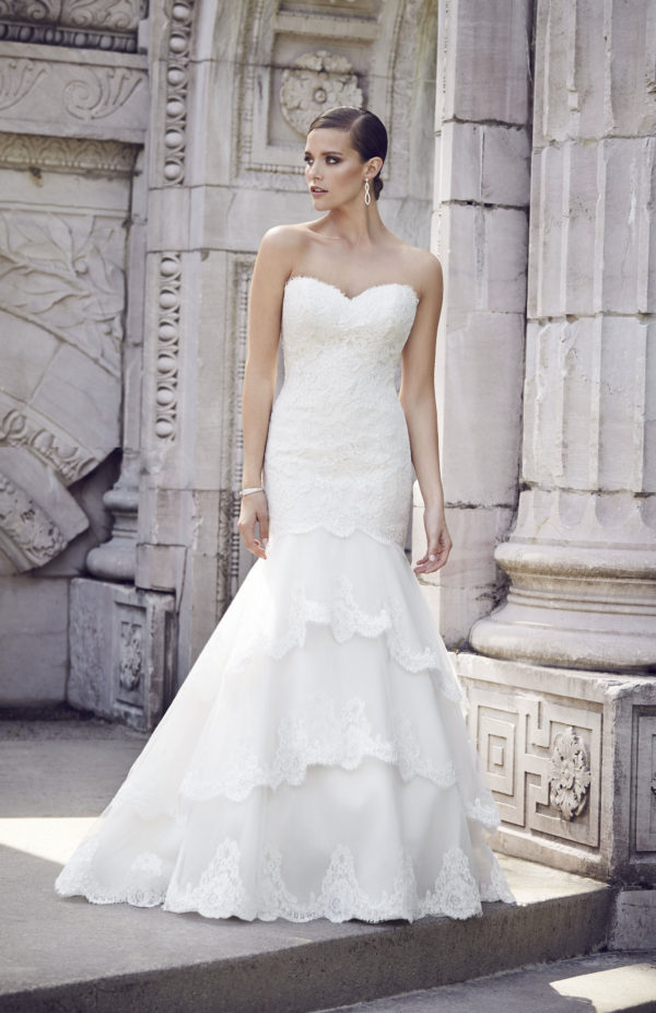 Paloma Blanca 4550 Mira Couture Wedding Bridal Gown Chicago
