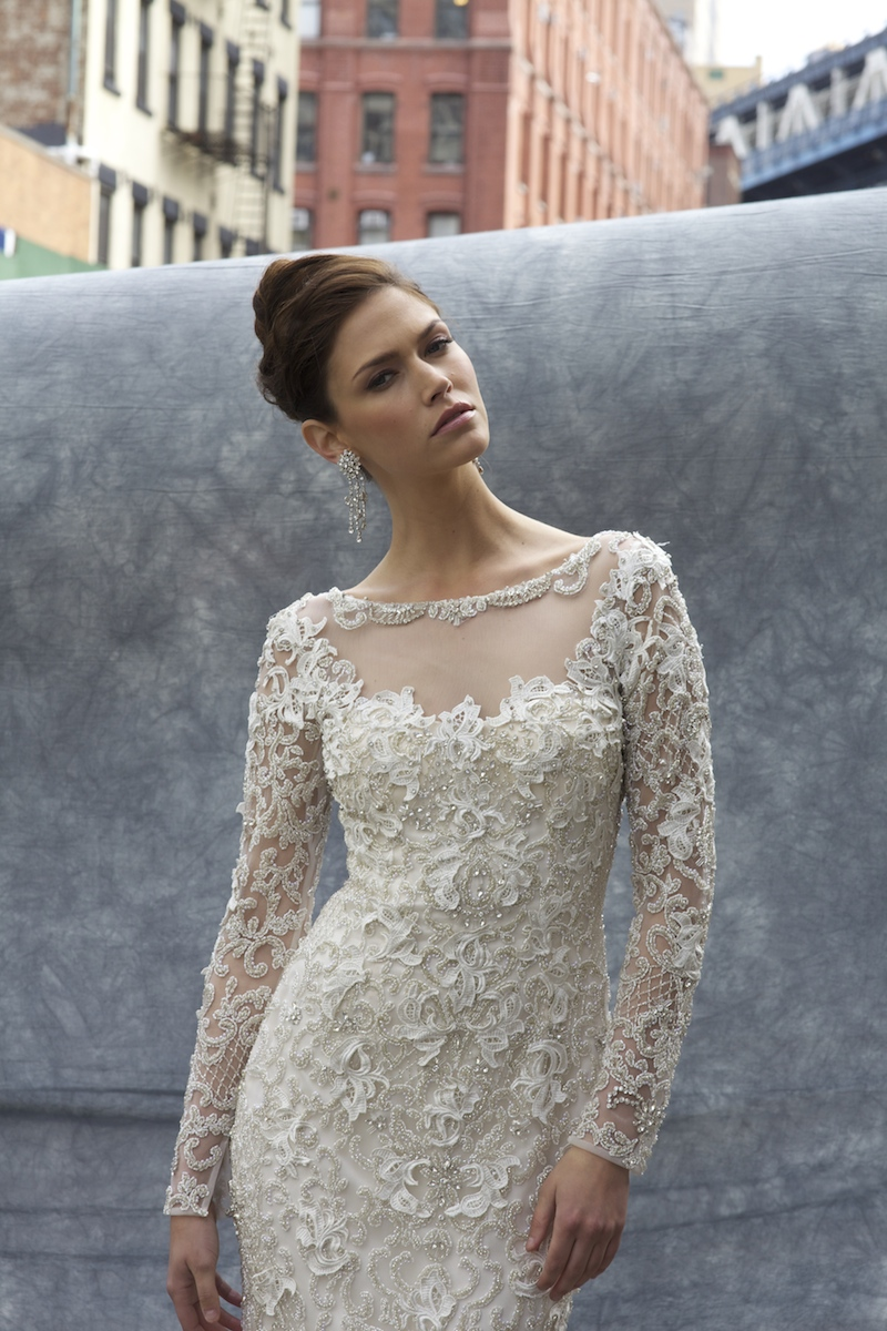 Stephen Yearick 13953 Mira Couture Gown Chicago