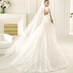 Valencia Atelier Pronovias Wedding Bridal Gown Chicago Back