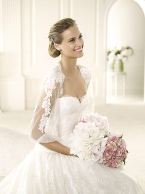 Valencia Atelier Pronovias Wedding Bridal Gown Chicago Detail