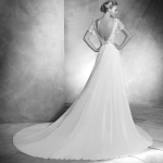 Vera Atelier Pronovias Mira Couture Wedding Bridal Gown Chicago Back