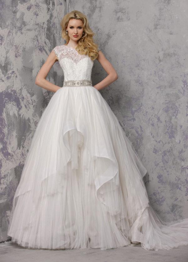 Yumi Katsura Belinda Mira Couture Chicago Wedding Bridal Gown