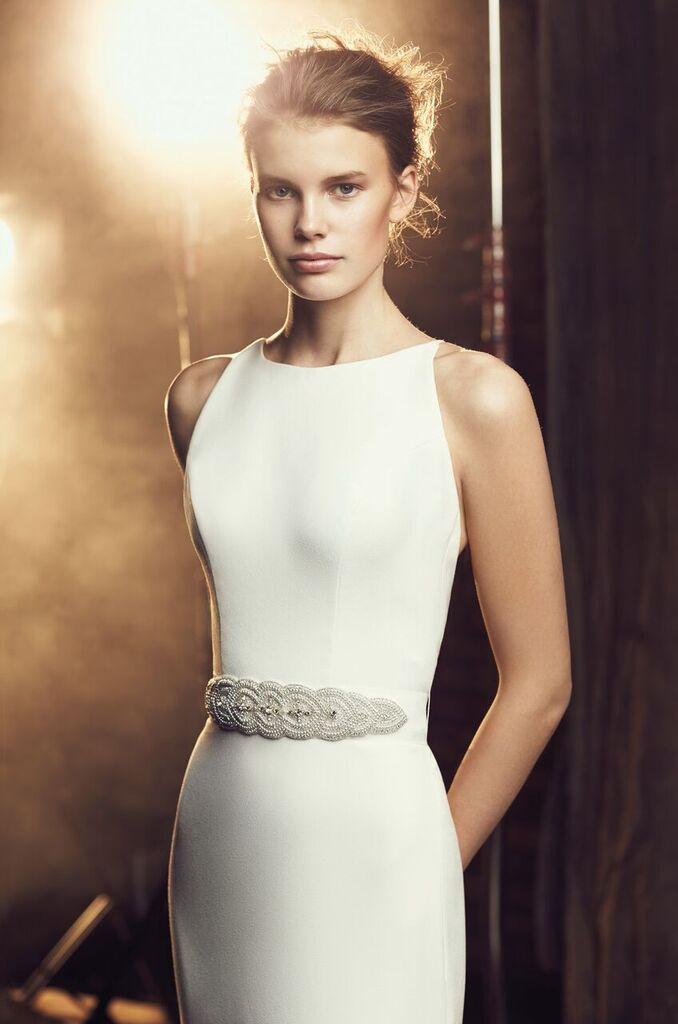 Mira Couture Wedding Bridal Gown Mikaella Chicago 2090
