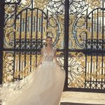 Mira Couture Netta Benshabu Bridal Gown Chicago 1508 Far