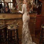 Mira Couture Netta Benshabu Lilya Wedding Bridal Gown Dress Chicago Boutique Back