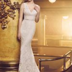 mira couture paloma blanca 4705 wedding bridal gown dress chicago boutique crop top