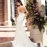 mira couture paloma blanca 4743 wedding bridal dress gown chicago boutique back