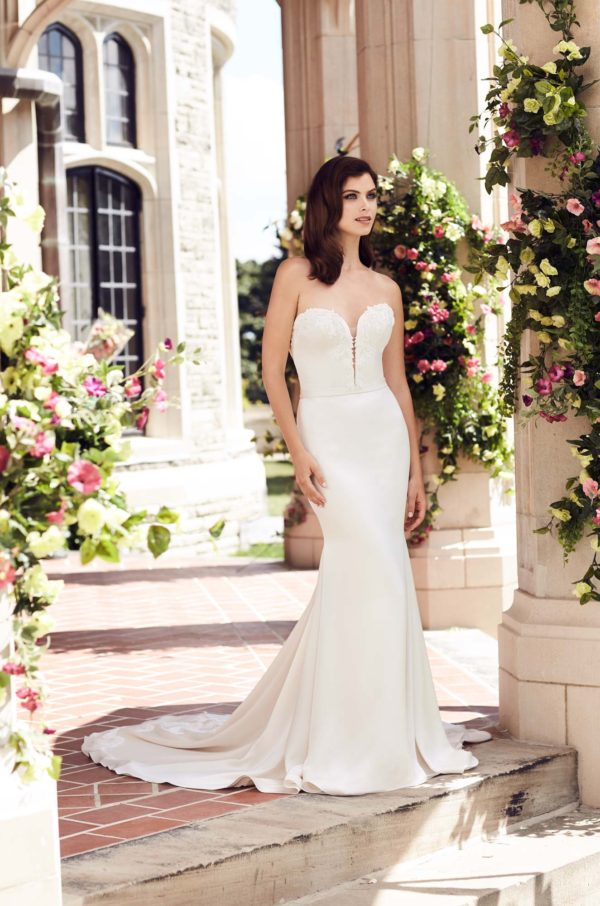 mira couture paloma blanca 4743 wedding bridal dress gown chicago boutique full