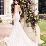 mira couture paloma blanca 4746 wedding bridal dress gown chicago boutique back