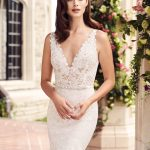 mira couture paloma blanca 4746 wedding bridal dress gown chicago boutique detail