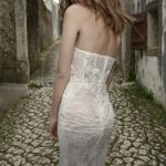 Mira Couture Allesandra Netta Benshabu Bridal Wedding Gown Dress Chicago Boutique Back