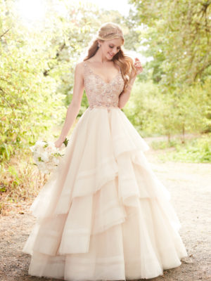Mira Couture Martina Liana 884 Wedding Bridal Dress Gown Chicago Boutique Front