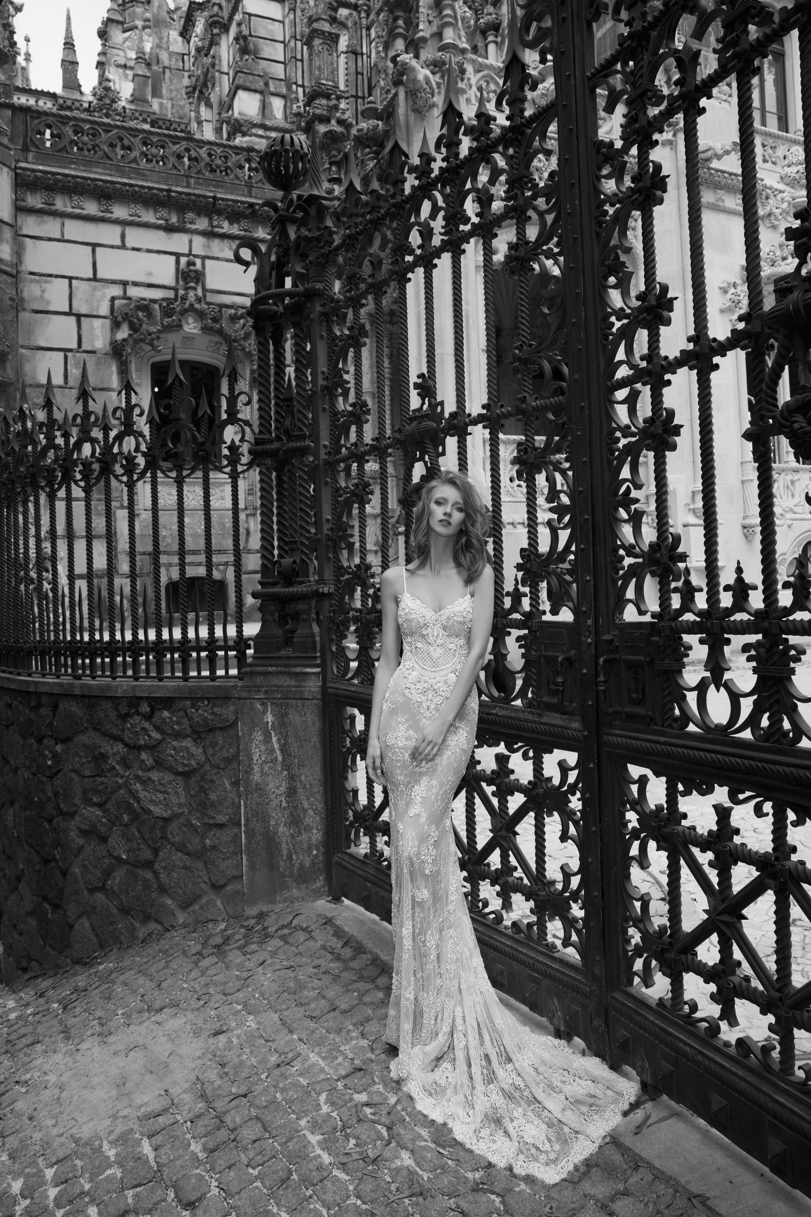 Mira Couture Netta Benshabu Sofhia Wedding Bridal Dress Gown Chicago Boutique Full Front
