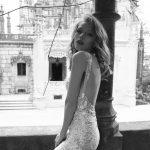 Mira Couture Netta Benshabu Victoria Wedding Bridal Dress Gown Chicago Boutique Back Detail