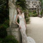 Mira Couture Netta Benshabu Victoria Wedding Bridal Dress Gown Chicago Boutique Front